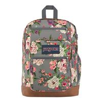 "Jansport Cool Student Backpack Fits Screens up to 15"" - Grey Bouquet"