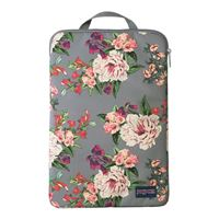 "Jansport Laptop Sleeve Fits Screens up to 15"" - Gray Bouquet"