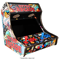 Micro Center Retro Arcade 2-Player Bartop Kit - Unassembled
