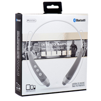 Sentry Industries BT926 Sentry Silver On The Neck Bluetooth Headphones - Silver