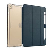 "TTX Tech iPad Pro 12.9"" Clear Shockproof Case with Cover - Blue"