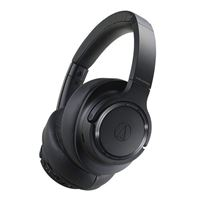 Audio-Technica ATH-SR50BT Bluetooth Wireless Over-Ear Headphones, Black