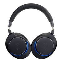 Audio-Technica ATH-MSR7bBK Over-Ear High-Resolution Headphones (Black)