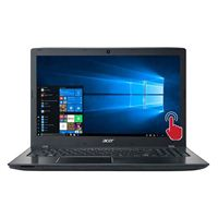 "Acer Aspire E5-575T-3678 15.6"" Laptop Computer - Black"