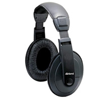 Inland Multimedia Headphones - Black