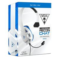 Turtle Beach Recon Chat Gaming Headset - White/Blue