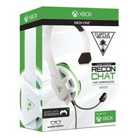 Turtle Beach Recon Chat Gaming Headset - White/Green