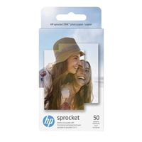 "HP ZINK Sticky-Backed Photo Paper, 2"" x 3"", 50 sheets"