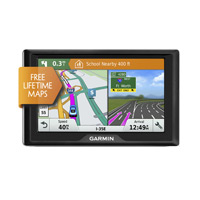 "Garmin 51 LM 5"" GPS Navigator w/ Lifetime Maps and Traffic - Refurbished"