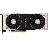 NVIDIA Titan RTX Dual-Fan 24GB GDDR6 PCIe 3.0 Graphics Card