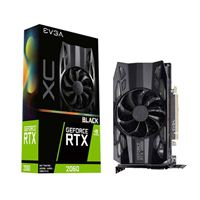 EVGA XC Black Gaming GeForce RTX 2060 Single-Fan 6GB GDDR6 PCIe Video Card