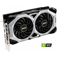 MSI GeForce RTX 2060 Ventus Overclocked Dual-Fan 6GB GDDR6 PCIe 3.0 Graphics Card