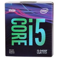IntelCore i5-9400F Coffee Lake 2.9GHz Six-Core LGA 1151 Boxed...