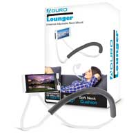 Aduro Lounger Adjustable Neck Mount - White