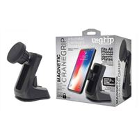 Aduro U-Grip Magnetic Suction Dashboard Phone Mount - Black