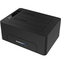 Sabrent USB 3.0 to SATA Dual Bay External Hard Drive Docking Station