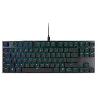 Cooler Master SK630 Tenkeyless RGB Mechanical Gaming Keyboard - Cherry MX Low Profile Red Switches