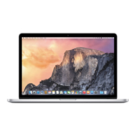 "Apple MacBook Pro MJLQ2LL/A Mid 2015 15.4"" Laptop Computer Pre-Owned - Silver"
