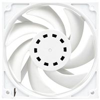 EKWB EK-Vardar EVO 120ER White Dual Ball Bearing 120mm Case Fan