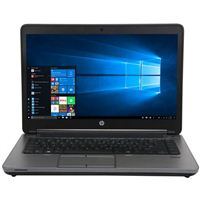 "HP ProBook 645 G1 15.6"" Laptop Computer Refurbished - Black"