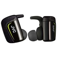 JVC True Wireless Sport Headphones - Black