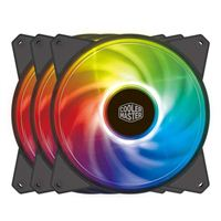 Cooler Master MasterFan MF120R ARGB 120mm Case Fan - Triple Pack