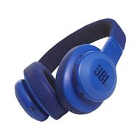 JBL E55BT Bluetooth Over-Ear Headphones - Blue