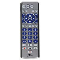 Zenith 3 Device Universal Remote Control With Big Buttons