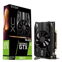 EVGA XC Black GeForce GTX 1660TI Single-Fan 6GB GDDR6 PCIe Video Card