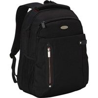 "Eco Style Pro Tech Checkpoint Friendly Laptop Backpack fits Screens up to 15.6"" - Black"