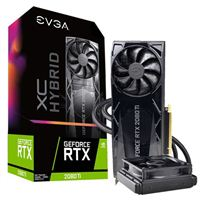 EVGA GeForce RTX 2080 Ti XC Hybrid 11GB GDDR6 PCIe 3.0 Video Card