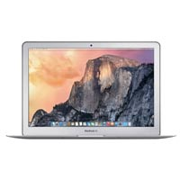 "Apple MacBook Air MJVG2LL/A Early 2015 13.3"" Laptop Computer Off Lease Refurbished - Silver"