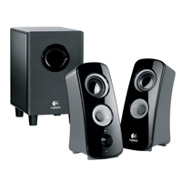 Logitech Z323 2.1 Speaker System with Subwoofer (Refurbished)