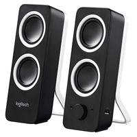 Logitech Z200 2.0 Speaker System (Refurbished)