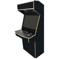Micro Center Retro Arcade 2-Player Stand Up Cabinet - Unassembled