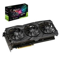 ASUS ROG Strix GeForce GTX 1660 Ti Overclocked Triple-Fan 6GB GDDR6 PCIe Video Card