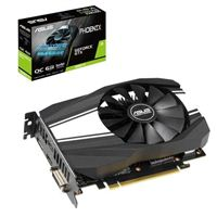 ASUS Phoenix GeForce GTX 1660 Ti Overclocked Single-Fan 6GB GDDR6 PCIe Video Card