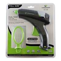SureBonder DT-270FKIT Plus Series 40 Watt Full Size Dual Temperature Hot Glue Gun with 12 Sticks Included