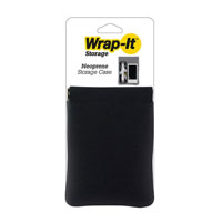 Wrap-It Neoprene Storage Case - Black