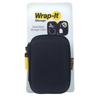 Wrap-It Hard Shell Storage Case - Black