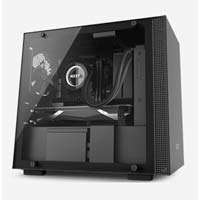 NZXT H200i Mini ITX Mini-Tower Computer Case - Black