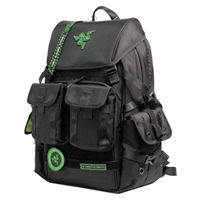 "Razer Tactical Pro Gaming Laptop Backpack Fits Screens up to 17.3"" - Black"