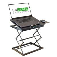 Uncaged Ergonomics CD4 Ergonomic Laptop Stand and Standing Desk