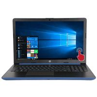 "HP 15-db0008ds 15.6"" Laptop Computer - Blue"