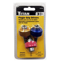 Titan Tools 3 pc Finger Grip Drivers