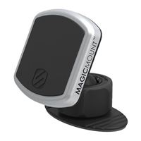 Scosche Industries MagicMount Pro Suction Magnetic Dashboard Phone Mount w/ PopSockets Grip