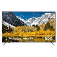 "Westinghouse WR55UX4019 55"" Class (54.6"" Diag.) 4K Ultra HD HDR Smart Roku LED TV"
