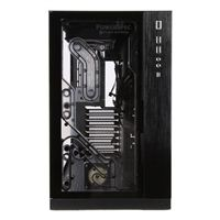 PowerSpec PC-O11 RGB Tempered Glass eATX Mid-Tower Computer Case with EK Fluid Gaming Cooling