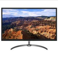"Philips 31.5"" QHD 60Hz VGA DVI HDMI DP FreeSync LED Monitor"