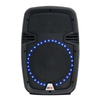 "QFX 8"" 5600W 2-Way PA Speaker - Black"